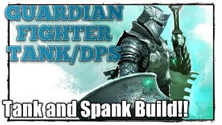 NEVERWINTER MOD 11 GUARDIAN FIGHTER BUILD and GUIDE! TANK FBI AND DESTROY SOLO CONTENT! PC PS4 XBOX