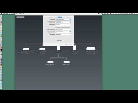 How to change wireless network name and password on mac