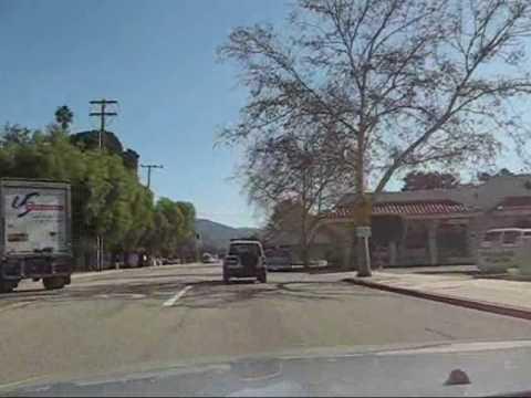 A Drive Through Ojai 2 - Mira Monte, Downtown & The East End