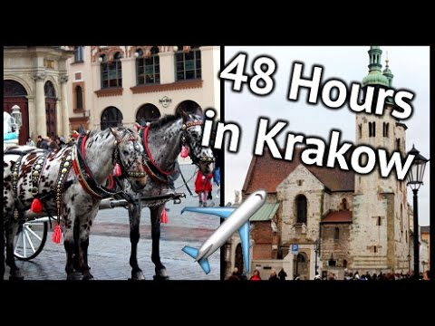 48 Hours In Krakow | xameliax Travel Vlog