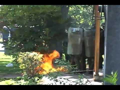 Uct Temuco desalojo 20/10/2011