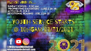 """Sunday School - """"Prophesying Daughters"""" - 01/31/2021"""