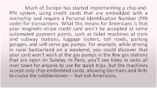 Credit Cards in Europe The peril of Plastic