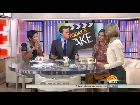 Natalie Morales and Dylan Dreyer in leather skirt and boots part 2  28Oct2015