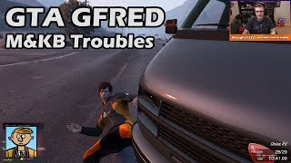 Mouse & Keyboard Troubles - GTA 5 Gfred Racing Live #24