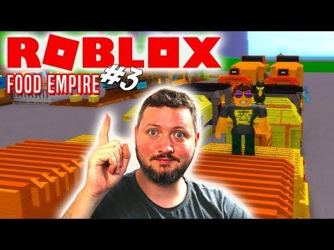 NÆSTE TIER🍔! - Roblox Food Empire Dansk Ep 3