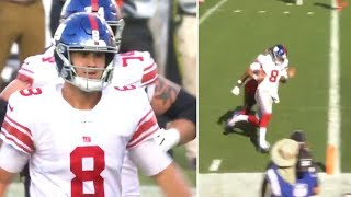 Daniel Jones PUTS GIANTS ON HIS BACK With Saquon Barkley Going Out With Injury