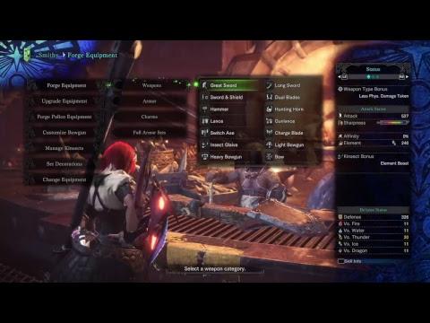 Monster Hunter World - Midnight Stream 4/27/18 Dante Quest