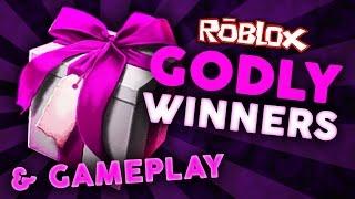 Roblox - Murder Mystery 2 - GODLY WINNERS & GAMEPLAY