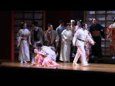 "MADAME BUTTERFLY The Bonze and Chorus ""Cio-Cio-San!"""