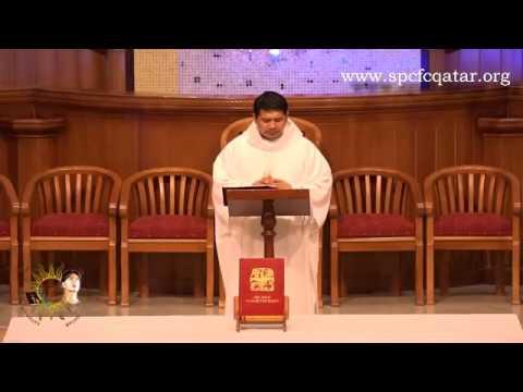 Simbang Gabi in Doha Qatar Day1