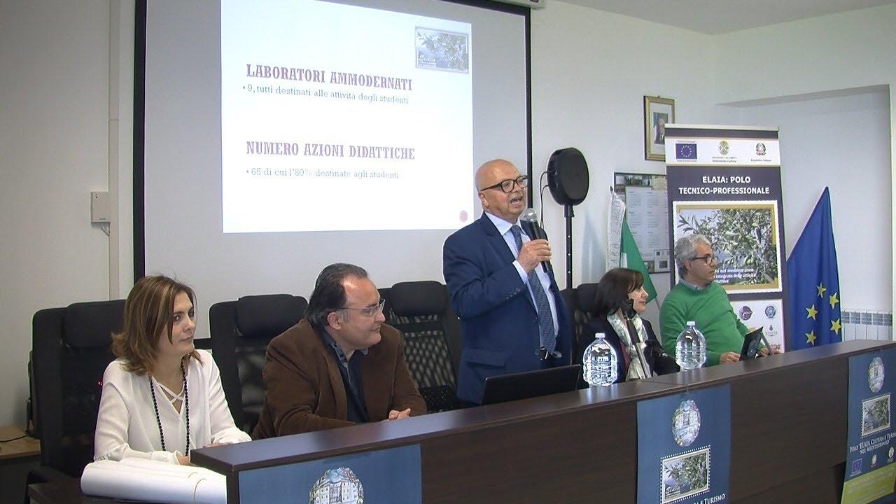 """Vibo Valentia, Polo tecnico-professionale """"Elaia"""": presentati i risultati conclusivi"""
