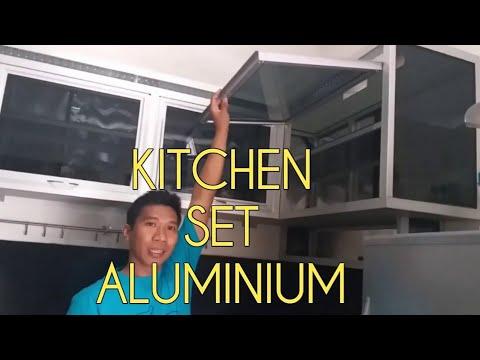 Cara Pasang Kitchen Set Aluminium Full bawah dan Atas Dapur