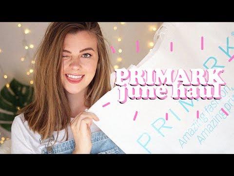 PRIMARK HAUL - JUNE 2018 (TRY ON - CLOTHING + HOMEWARE)   LUCY WOOD