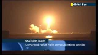 Unmanned Delta 4 rocket carrying communications satellite successfully launched from Cape Canaveral