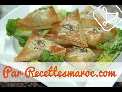 Briouats Vermicelle & Carottes - Vegetarian Briouats - بريوات صحية رمضانية