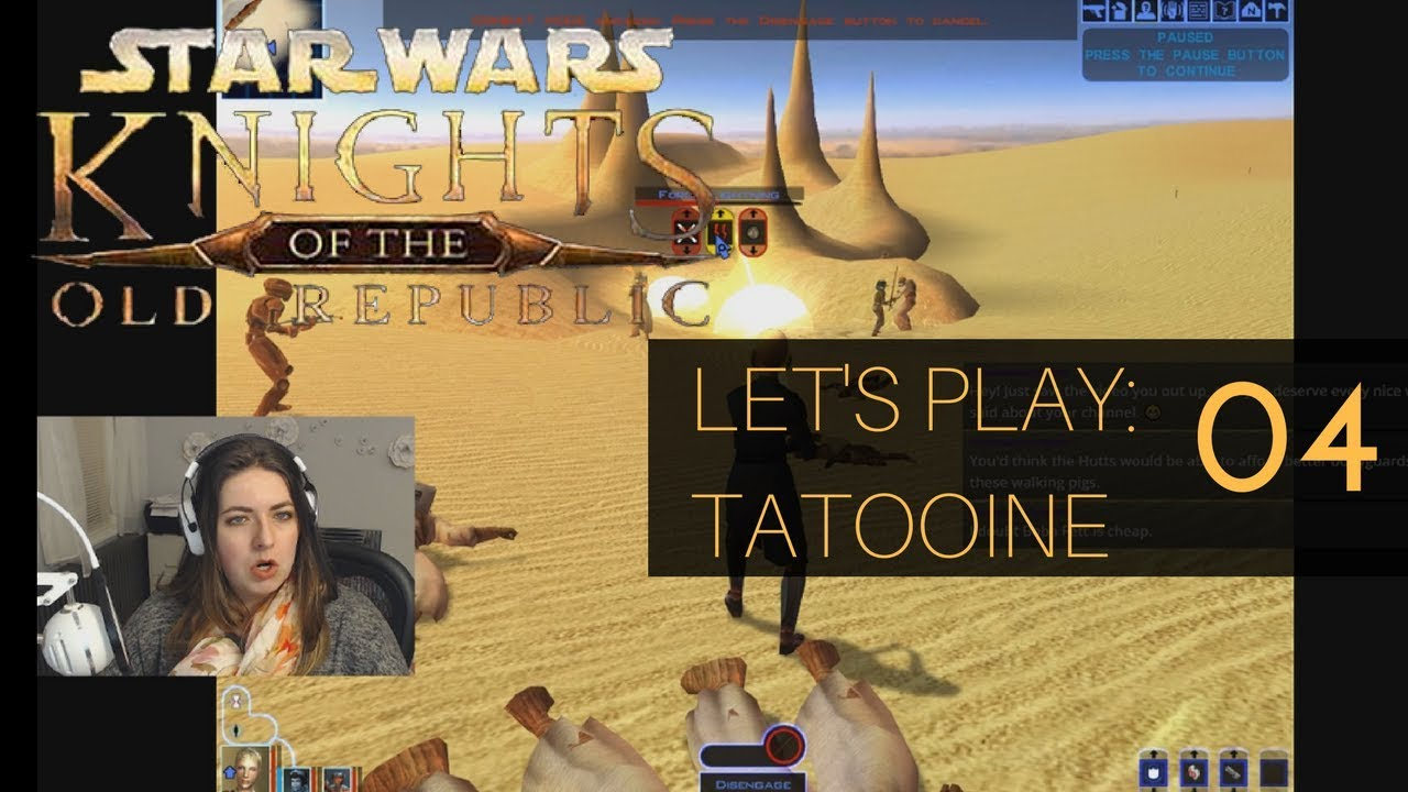 let s play star wars kotor tattooine 04 we free the jawas youtube