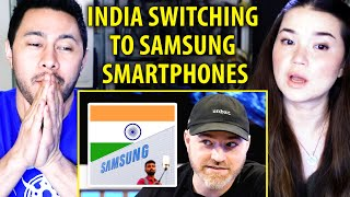 SAMSUNG'S MADE IN INDIA PHONE | Lew Later | Later Clips |  Reaction | Jaby Koay