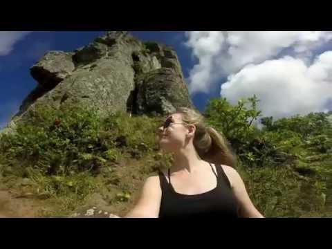 Cross Island Hike |  The Needle, Rarotonga (Gopro)