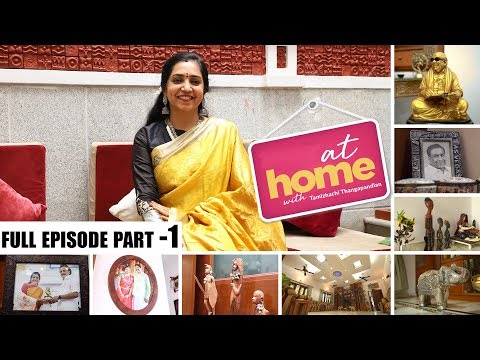 At Home with Thamizhachi Thangapandian | I always wanted a big Living Room | JFW Exclusive