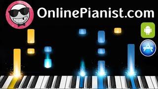 Slow Blues in C - Piano Tutorial (Intermediate Version)