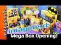 Batman Imaginext Mega Box Opening Play Doh Egg Surprise Joker Clayface Penguin Catwoman