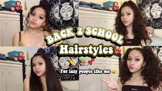 7 BACK TO SCHOOL HAIRSTYLES ✏️📚 *Quick And Easy* 2019