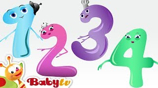 Counting Song - Meet the Numbers 1 to 10 with Charlie & the Numbers - BabyTV