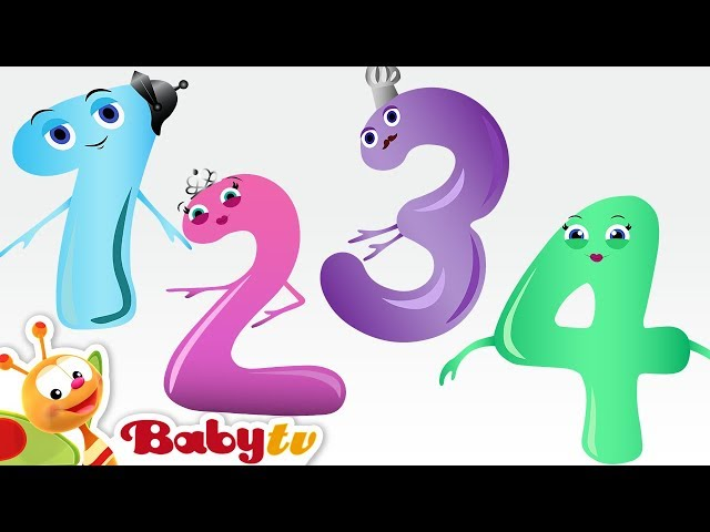 Counting Song - Meet the Numbers 1 to 10 with Charlie & the Numbers | BabyTV