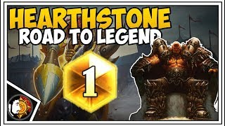 Hearthstone: 75% Winrate To Rank 5 (Part 2) - Quest Warrior