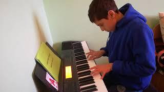 Mozart - Sonata pentru pian nr. 10 mvt.1