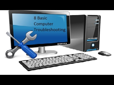 8 basic computer troubleshooting // NVN 99