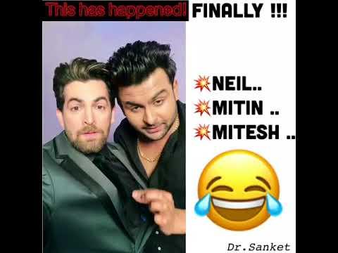 When Dr.Sanket Bhosale met Real Neil Nitin Mukesh !! Funny!!