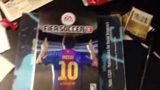 FIFA 13 UNBOXING (XBOX 360) Metal Messi cover box