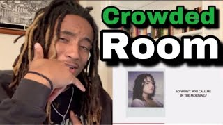 Download Lagu Selena Gomez - Crowded Room ft 6LACK ALBUM REACTION MP3