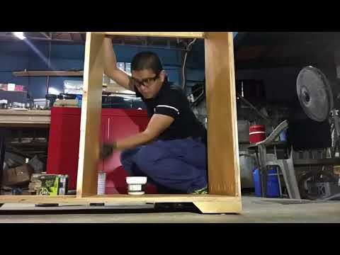 DIY Wooden Cabinet from Scrap