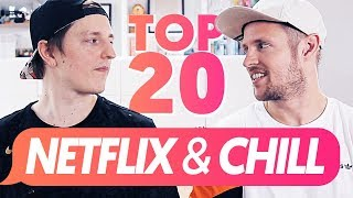 Die Top 20 NETFLIX & CHILL Alternativen