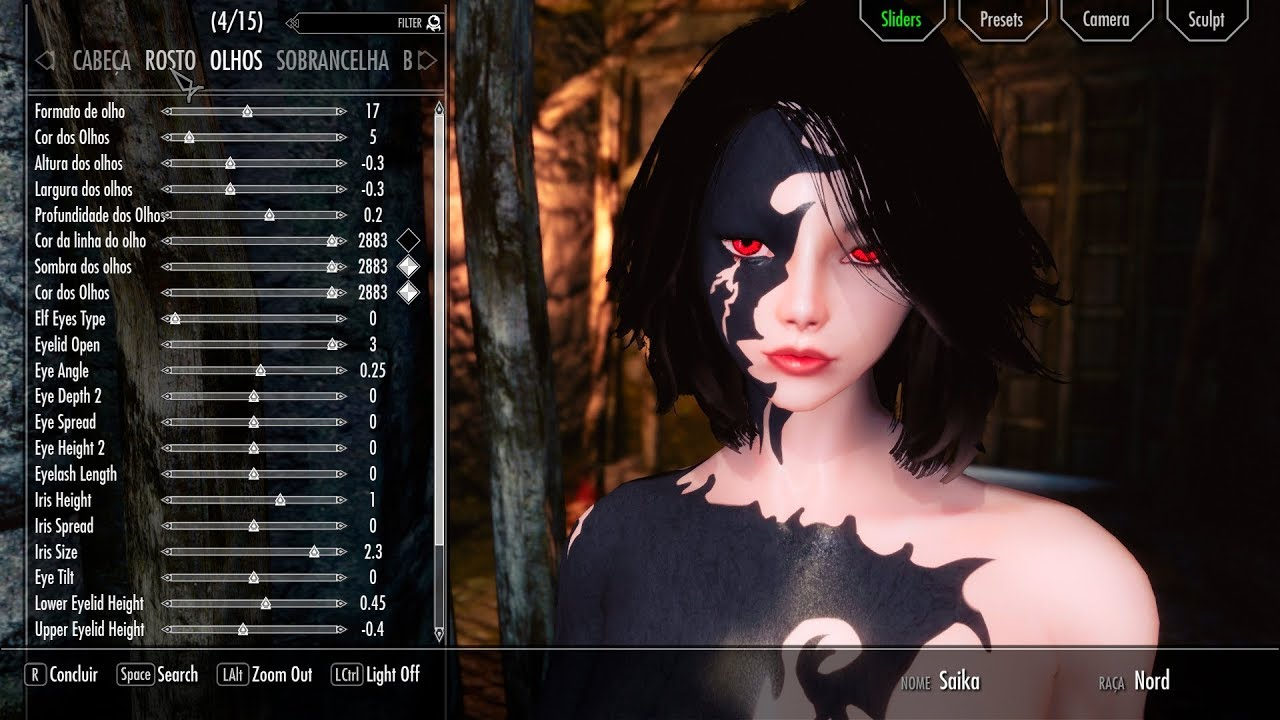 Skyrim Mods - Mods to Create a Character