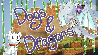 Minecraft | Dogs & Dragons | Save the Cow! | Mousie
