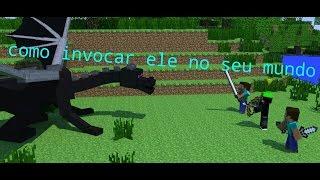 COMO INVOCAR O ENDER DRAGON NO SEU MUNDO (SEM MODS)
