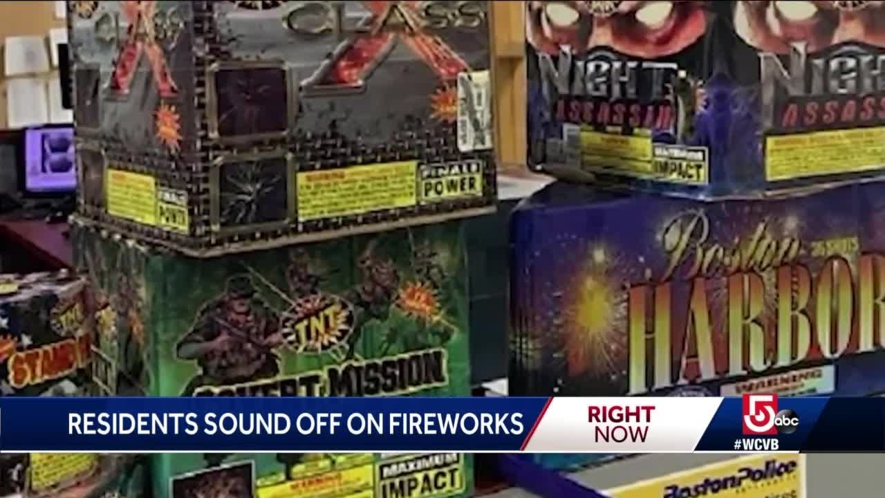 WATCH: Nonstop Illegal Fireworks Light Up Boston Skies On July 4th
