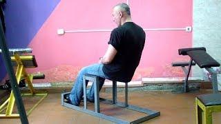 Римский стул: как сделать тренажер