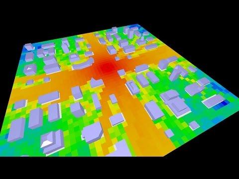 Electromagnetic Ray Tracing - scenario 08 (-150dB)