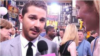 Shia LaBeouf Says Goodbye to Transformers While His Costars Sing His Praises