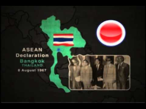 Foundation history of the ASEAN