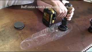 How to Remove a Scratch from a FX Poxy Countertop