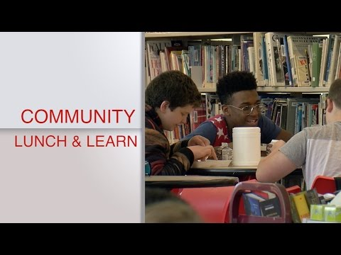 Community Lunch & Learn - Lenape High School