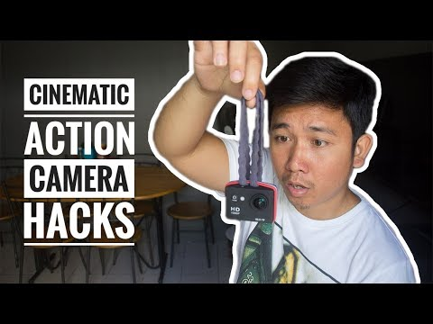 How To Film a Cinematic Sequence Using Cheap Action Camera (Tagalog Tutorial)