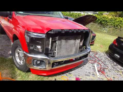 1999 Ford F250 Super Duty 2011-15 Front End Conversion Part: 1