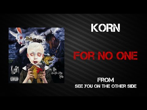 Korn - For No One [Lyrics Video]